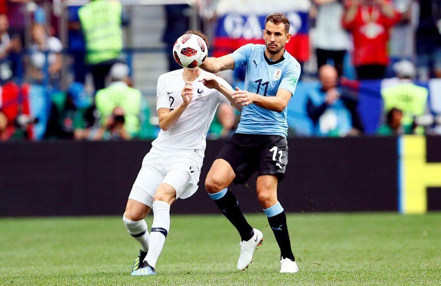 Coupe Du Monde 2018 : France Uruguay En Photos ( 10