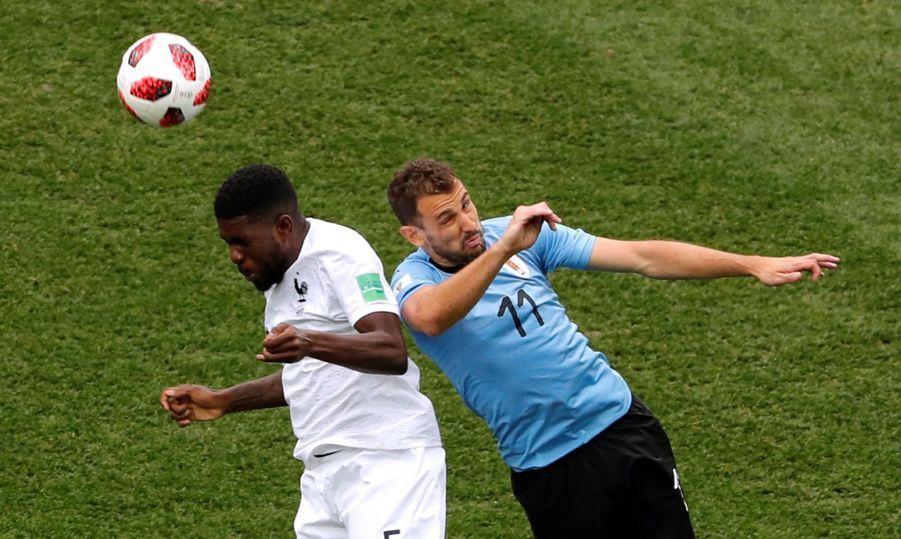 Coupe Du Monde 2018 : France Uruguay En Photos ( 14