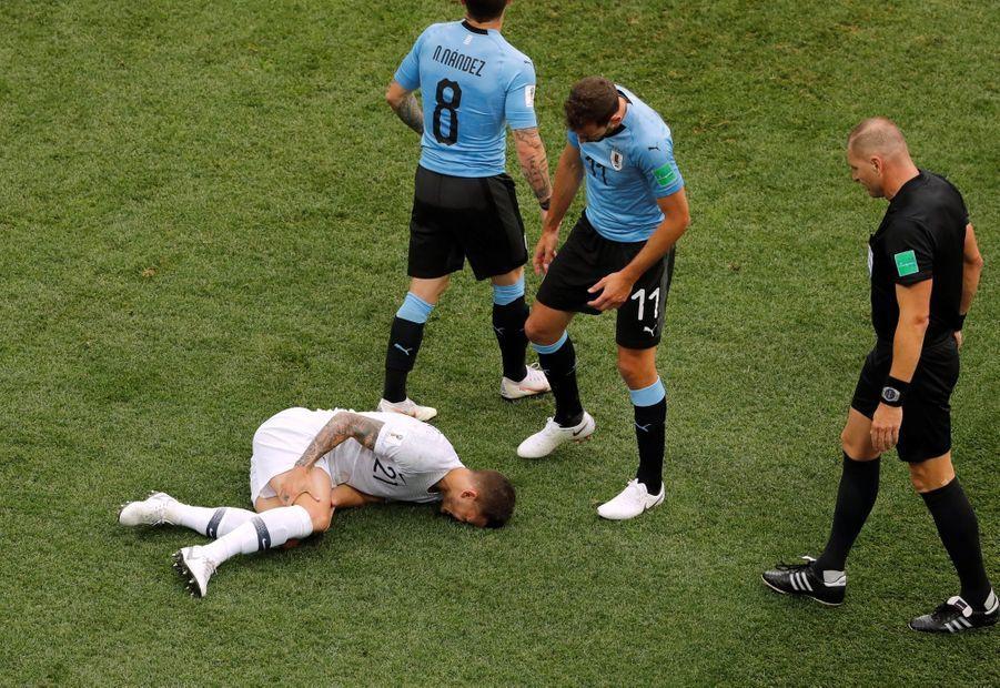 Coupe Du Monde 2018 : France Uruguay En Photos ( 18