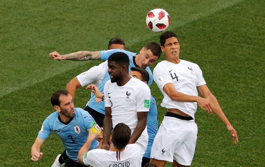 Coupe Du Monde 2018 : France Uruguay En Photos ( 19