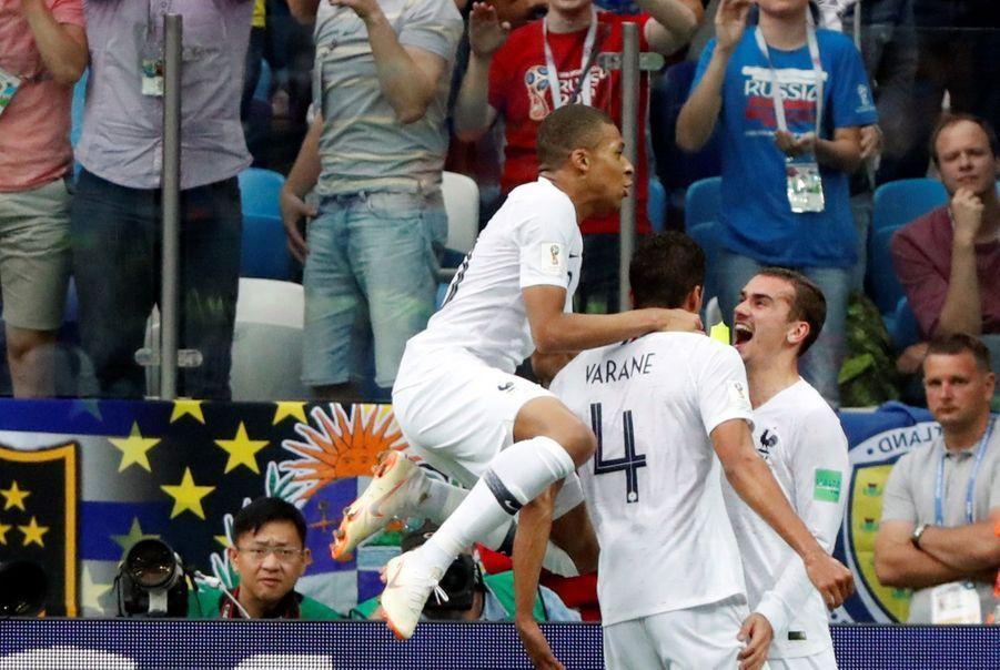 Coupe Du Monde 2018 : France Uruguay En Photos ( 49