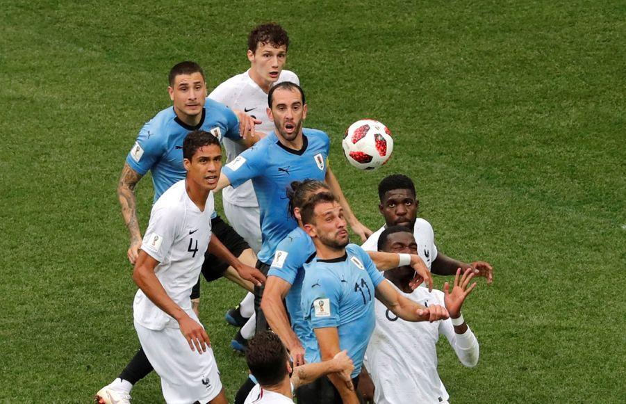 Coupe Du Monde 2018 : France Uruguay En Photos ( 50