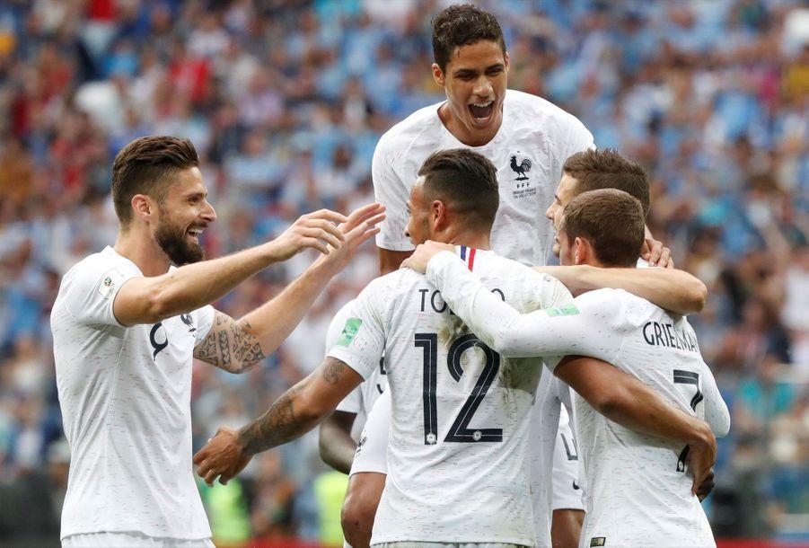 Coupe Du Monde 2018 : France Uruguay En Photos ( 77