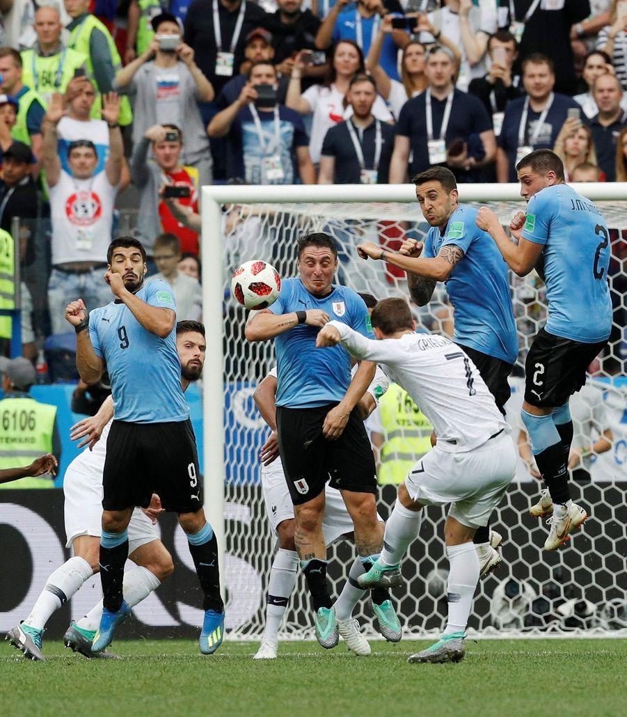 Coupe Du Monde 2018 : France Uruguay En Photos ( 89