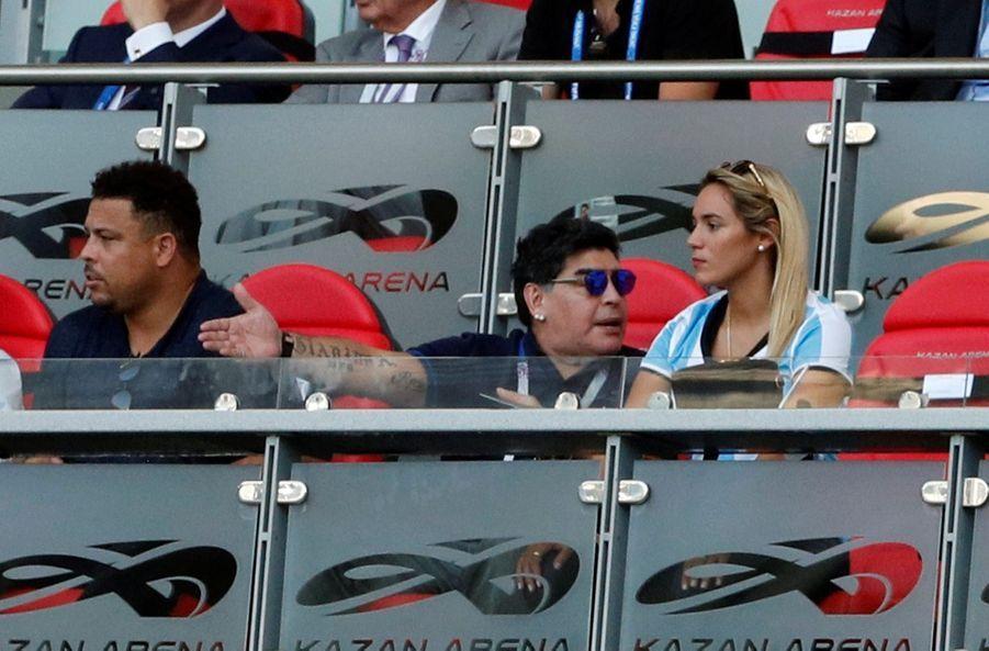 Les Larmes De Maradona, Après La Victoire De La France Contre L'Argentine En 8e De Finale De La Coupe Du Monde 2018 ( 14