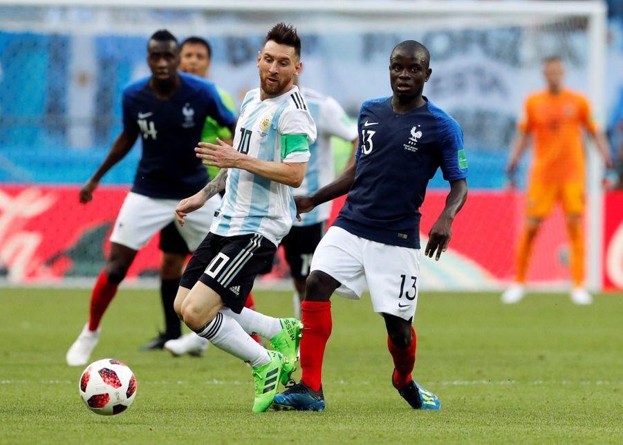 Les Larmes De Messi, Après La Victoire De La France Contre L'Argentine En 8e De Finale De La Coupe Du Monde 2018 ( 1
