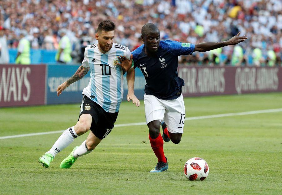 Les Larmes De Messi, Après La Victoire De La France Contre L'Argentine En 8e De Finale De La Coupe Du Monde 2018 ( 10