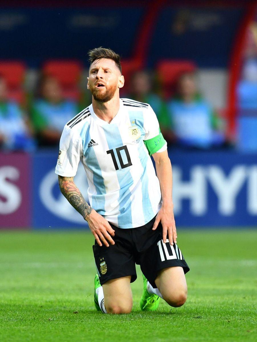 Les Larmes De Messi, Après La Victoire De La France Contre L'Argentine En 8e De Finale De La Coupe Du Monde 2018 ( 11