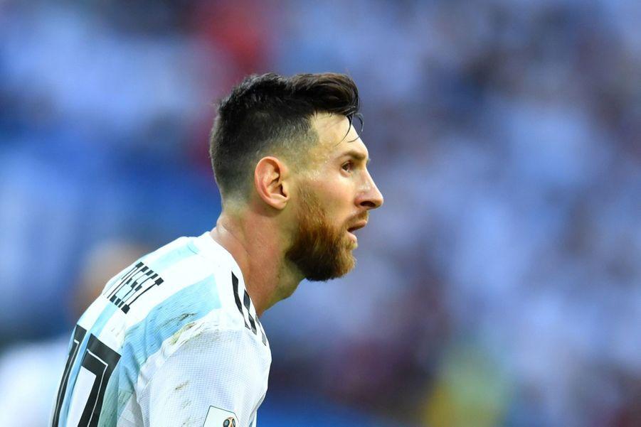 Les Larmes De Messi, Après La Victoire De La France Contre L'Argentine En 8e De Finale De La Coupe Du Monde 2018 ( 16