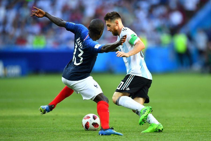 Les Larmes De Messi, Après La Victoire De La France Contre L'Argentine En 8e De Finale De La Coupe Du Monde 2018 ( 8