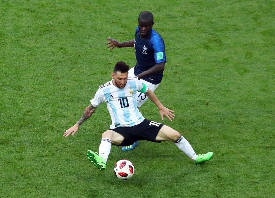 Les Larmes De Messi, Après La Victoire De La France Contre L'Argentine En 8e De Finale De La Coupe Du Monde 2018 ( 9