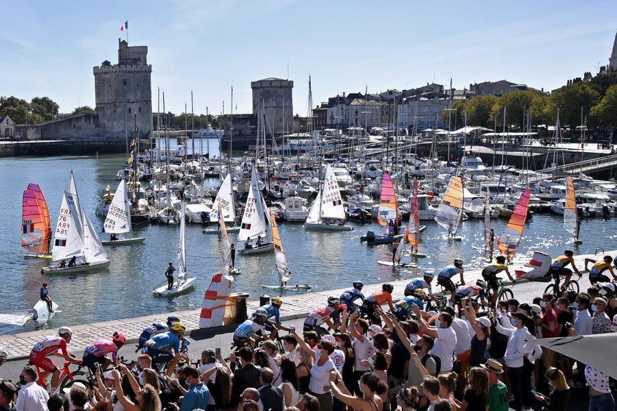 Le peloton à La Rochelle
