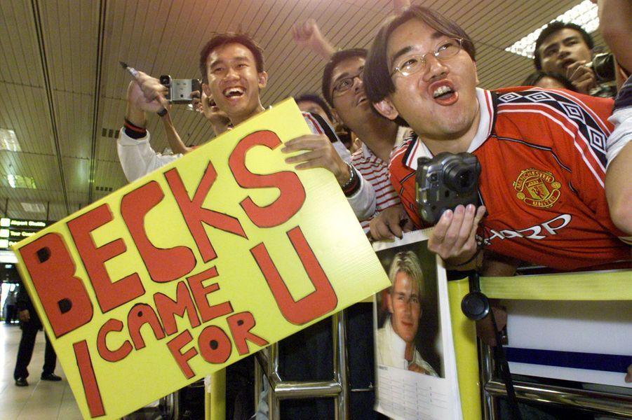 2001- La Beckham-mania est en marche