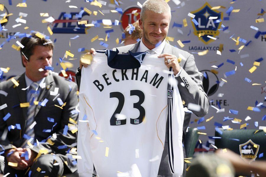 Il signe en 2007 avecles Los Angeles Galaxy.