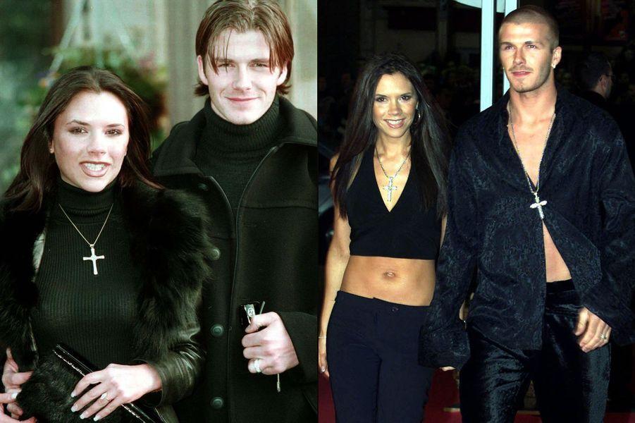 C'est à cette époque qu'il rencontre celle qui va faire de lui une star, Victoria, alors membre des Spice Girls. Elle transforme ce gentil blondinet en sex-symbol, adulée par les femmes de toute la planète.