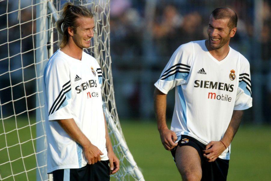 En 2003, celui qui est désormais le capitaine de l'équipe d'Angleterre rejoint de Real Madrid et prend encore une autre dimension. Avec Zinedine Zidane, Luis Figo, Ronaldo ou encore Robinno, ils forment les Galactique. Rien ne leur résiste alors.