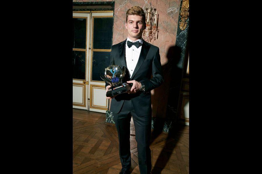 Max Verstappen, le turbulent du peloton F1, élu « Personnalité de l'année 2017 ».