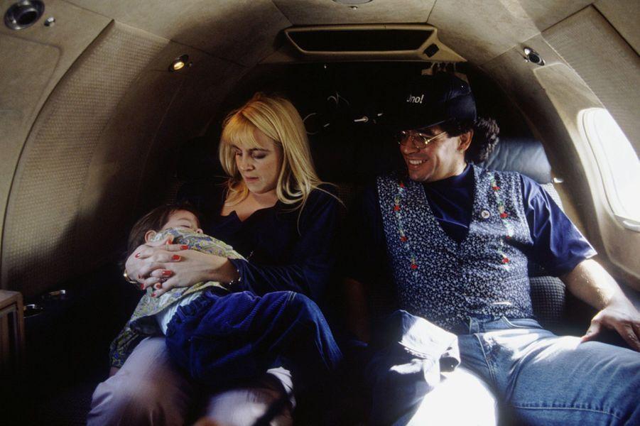 Diego Maradona et sa femmeClaudia Villafane.