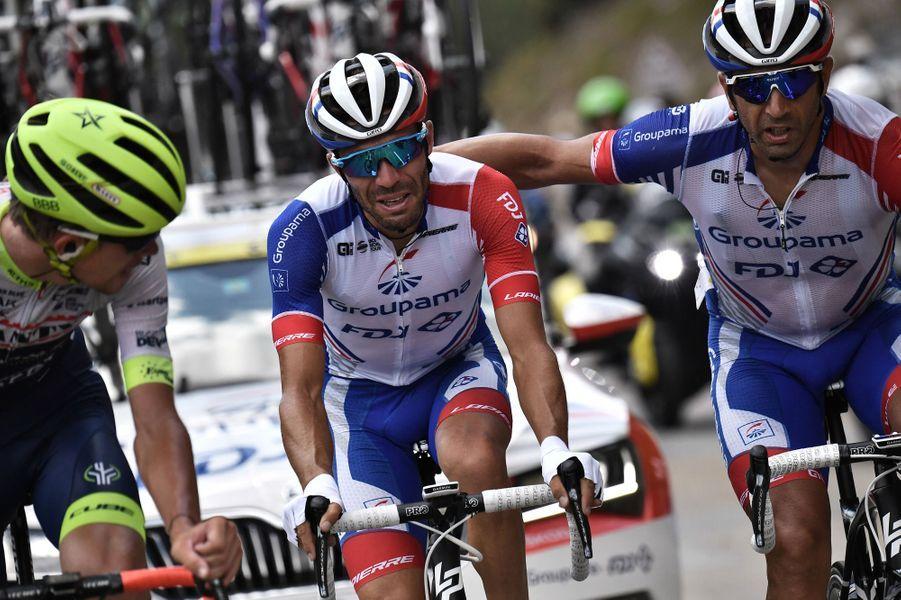 Abandon du Français Thibaut Pinot dans la 19e étape — Tour de France