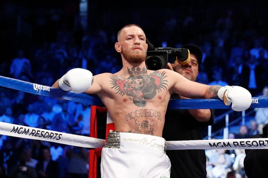 McGregor avant le combat.