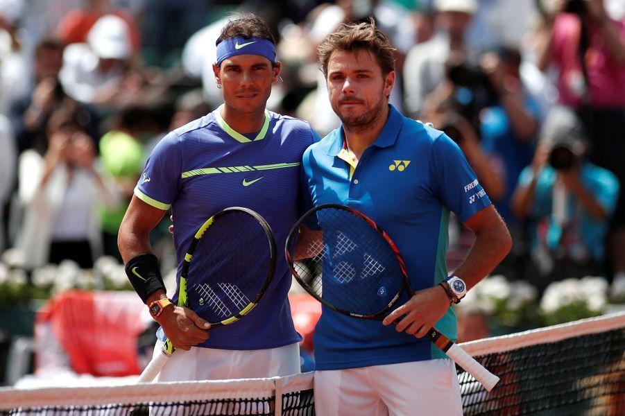 Rafael Nadal a écrasé Stan Wawrinka (6-2, 6-3, 6-1).