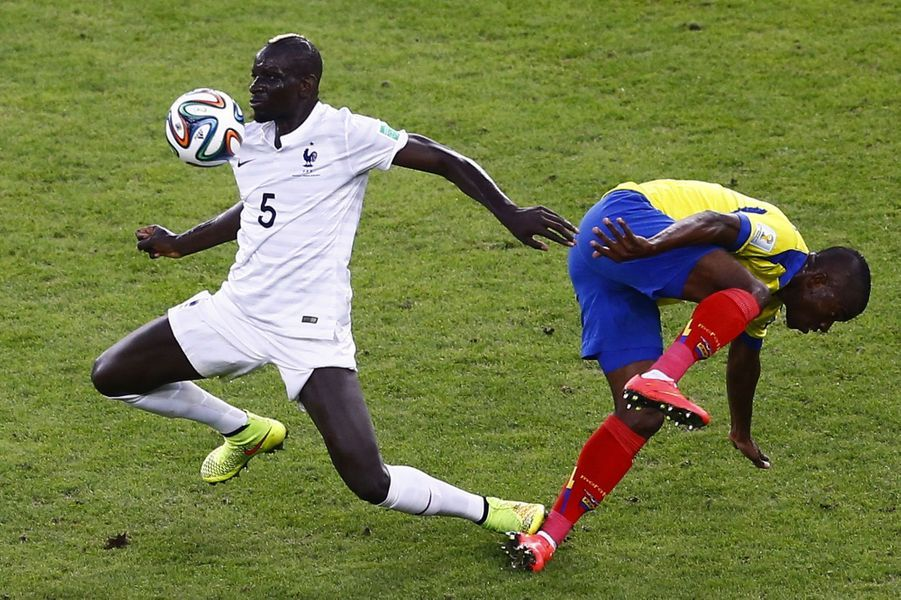 Mamadou Sakho : 197 passes, dont 91% réussies