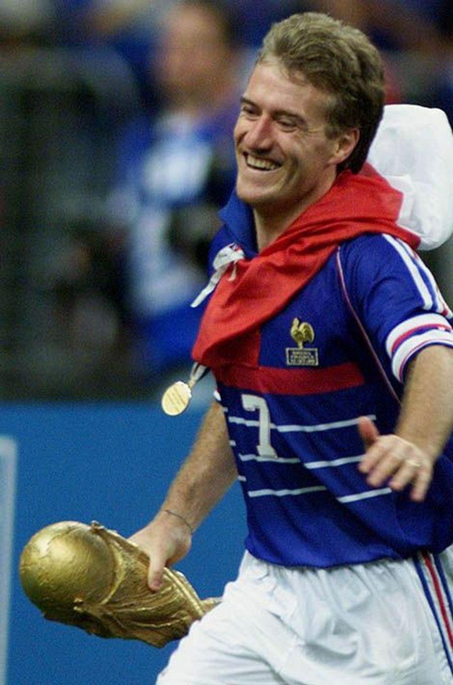 Didier Deschamps champion du monde en 1998