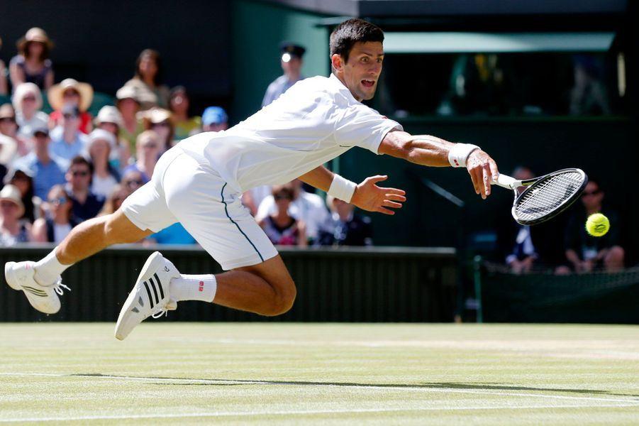 Richard Gasquet a été éliminé en demi-finale de Wimbledon par Novak Djokovic