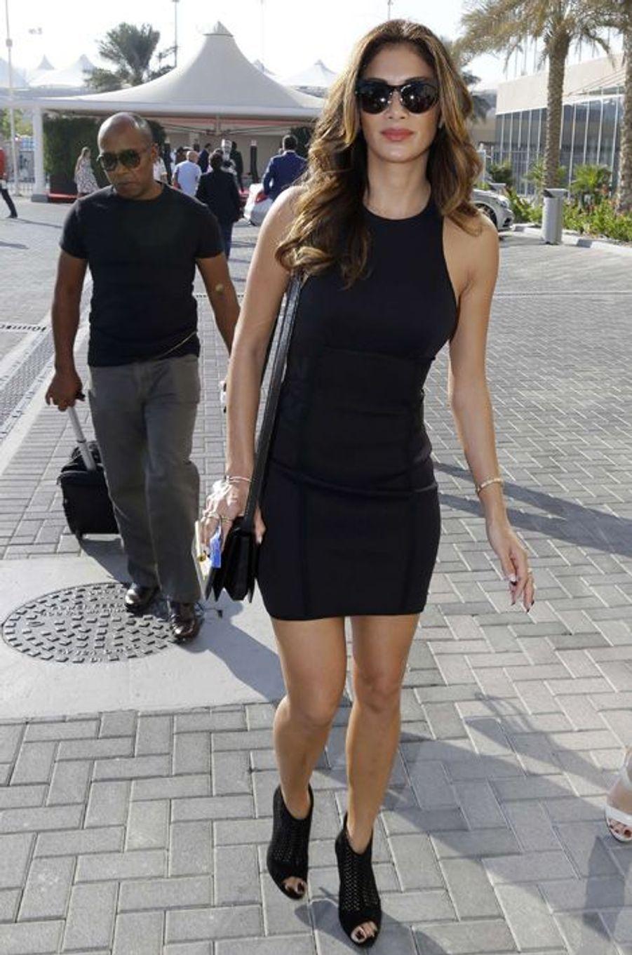 Dimanche 23 novembre, Nicole Scherzinger à Abou Dhabi