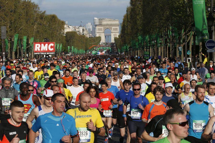 Le marathon, sous le soleil de Paris
