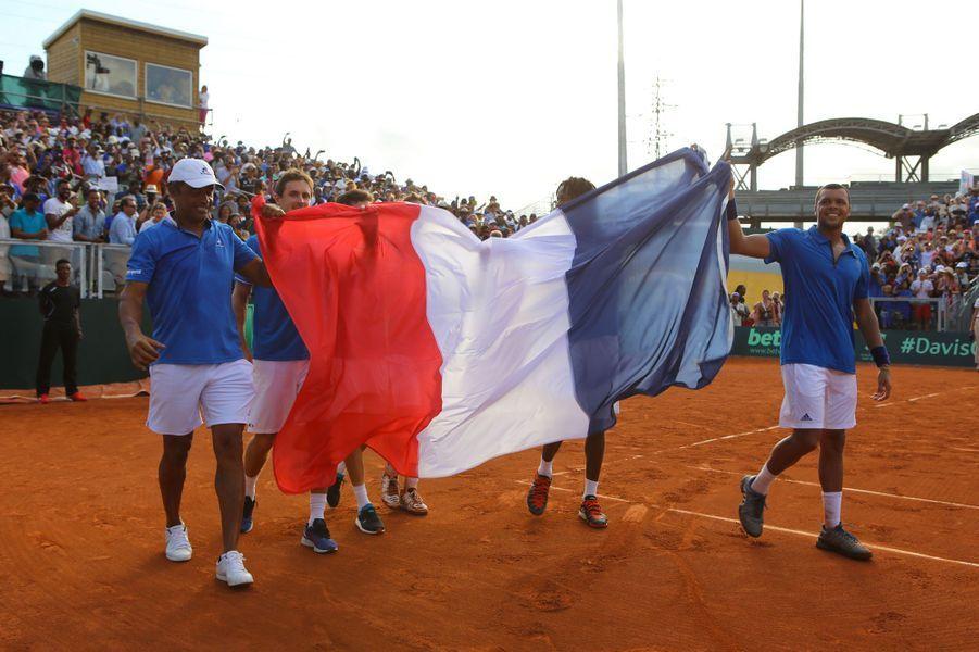 Les Français filent en quarts de finale