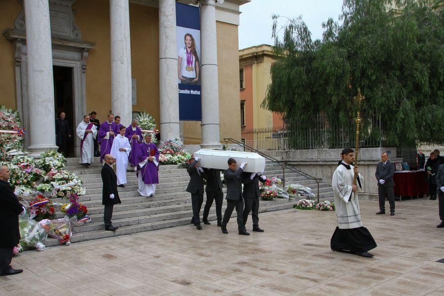 Les obsèques de Camille Muffat étaient organisées ce mercredi 25 mars à l'église Saint Jean-Baptiste-Le Voeu, à Nice