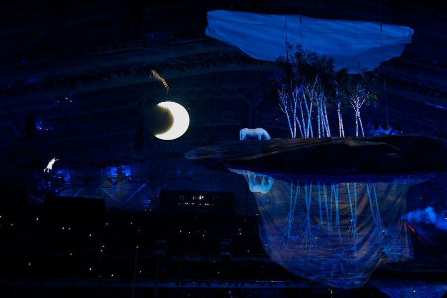 Les jeux olympiques de Sotchi sont ouverts