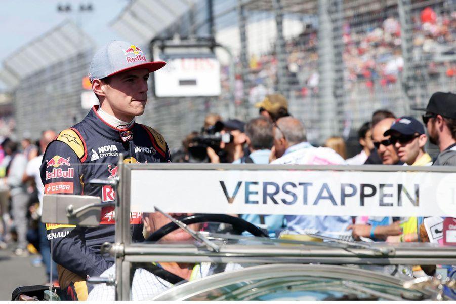 Pendant la parade du Grand Prix d'Australie, le 15 mars 2015