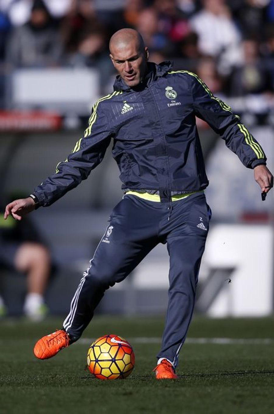 Pour sa première journée en tant qu'entraîneur du Real Madrid, Zinédine Zidane retrouve Karim Benzema