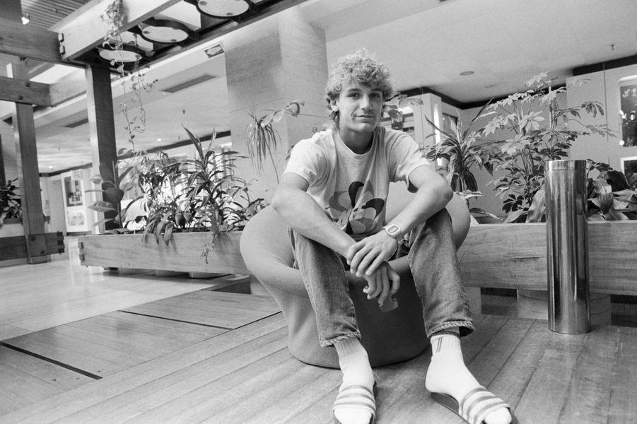 1982, Mats Wilander a 17 ans