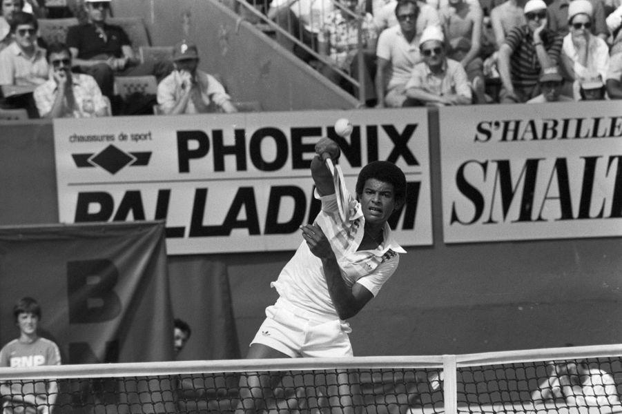 Juin 1978, Yannick Noah sur le court