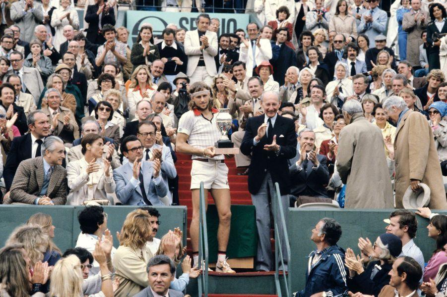 Juin 1979, Bjorn Borg remporte la finale pour la quatrième fois à 23 ans