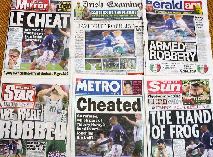 Au coeur de la polémique après son but... de la main face à l'Irlande en 2009