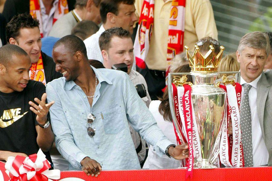 Champions d'Angleterre en 2004
