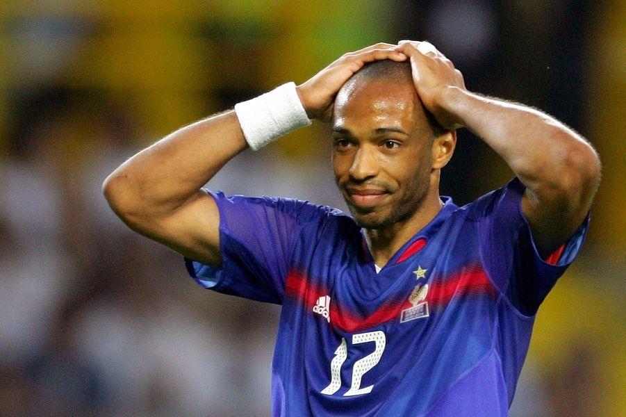 Eliminé de l'Euro 2004