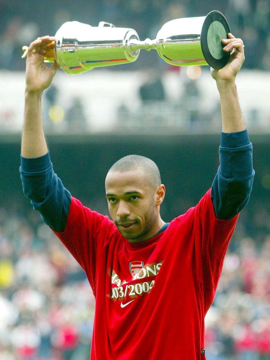 En 2004, joueur PFA de l'année