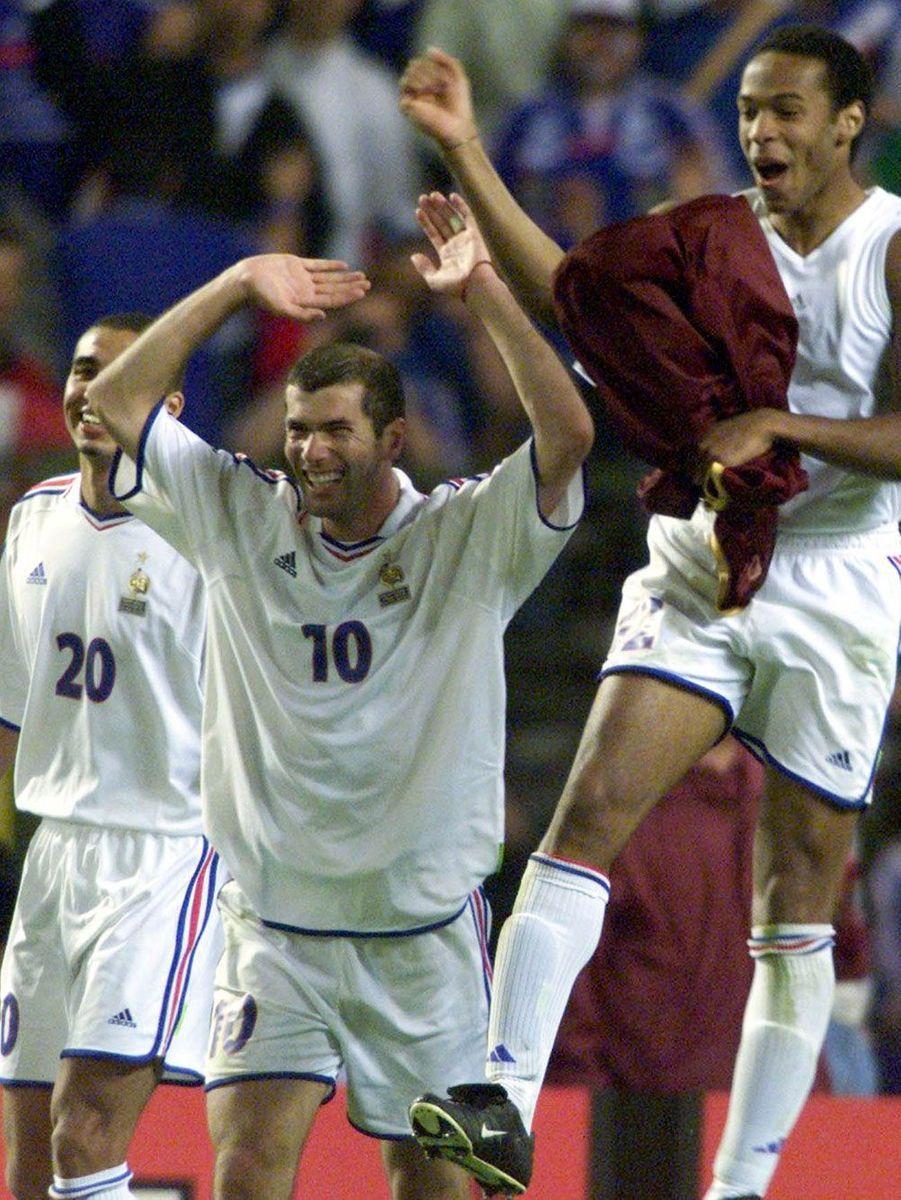 Euro 2000, avec Zinedine Zidane