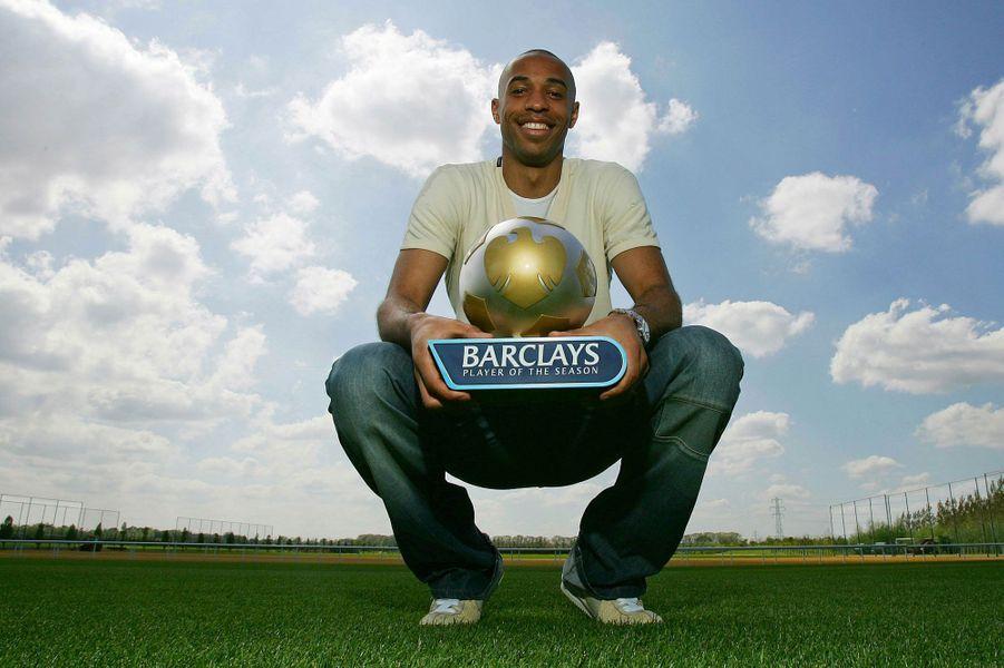 Sacré joueur de la saison avec Arsenal en 2006