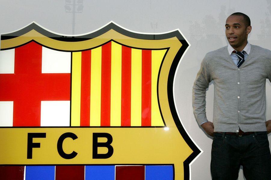 Signature avec le FC Barcelone en 2007
