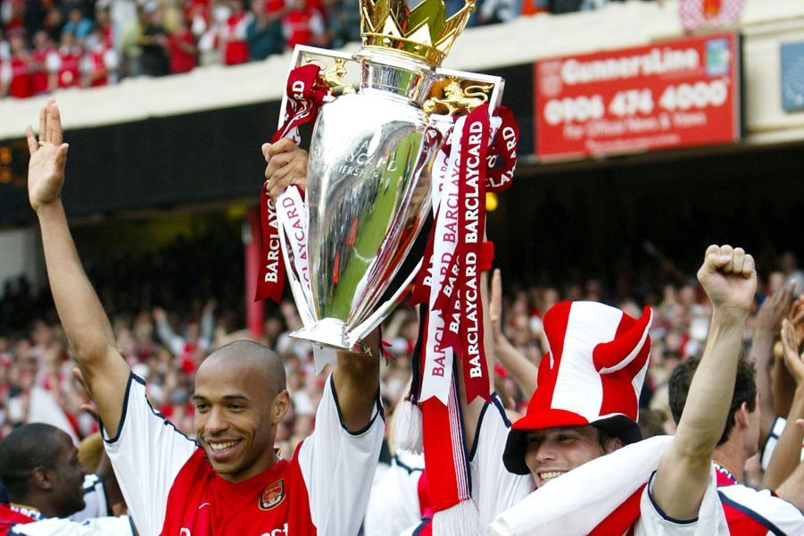 Vainqueur de la FA Cup avec Arsenal en 2002