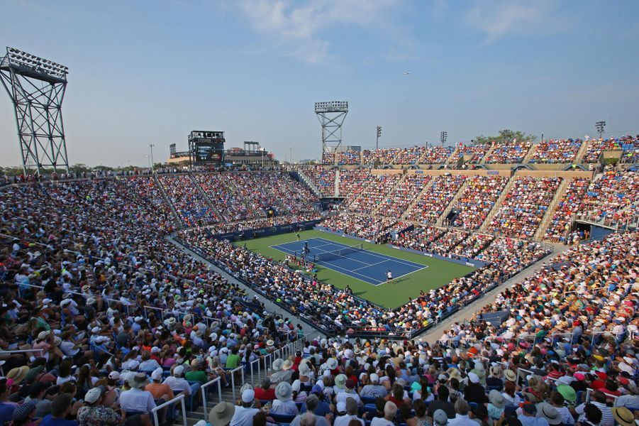 L'US Open de tennis 2015 : le complexe sportif USTA Billie Jean King.