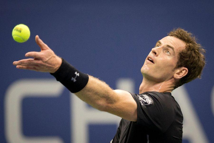 Le joueur britannique Andy Murray jouait contre Nick Kyrgios mardi 1er septembre
