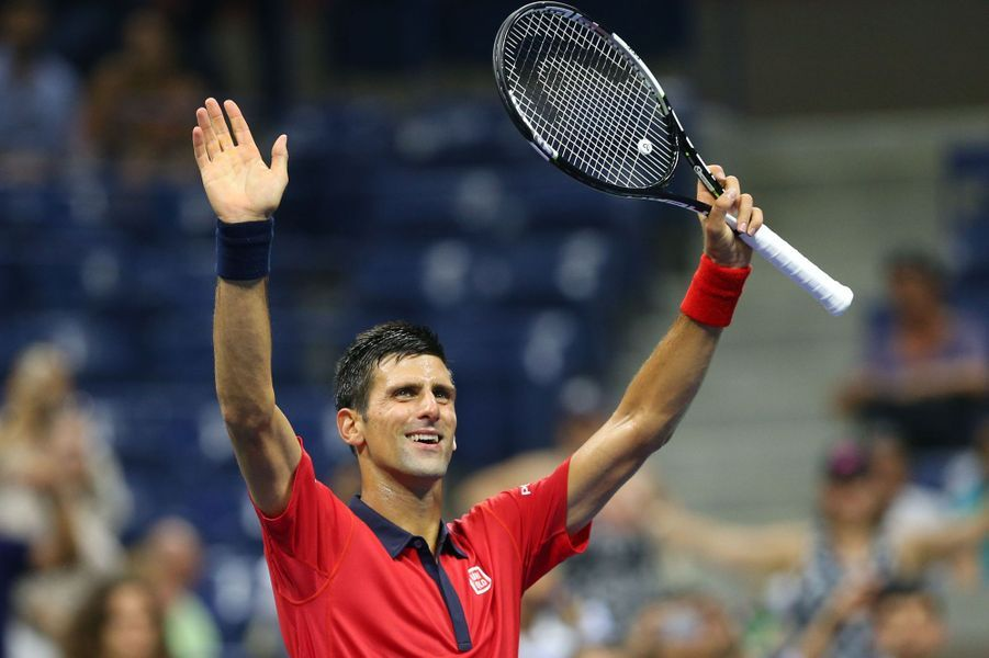 Novak Djokovic remporte son match contre Andreas Haider-Maurer à l'US Open 2015 mercredi 2 septembre