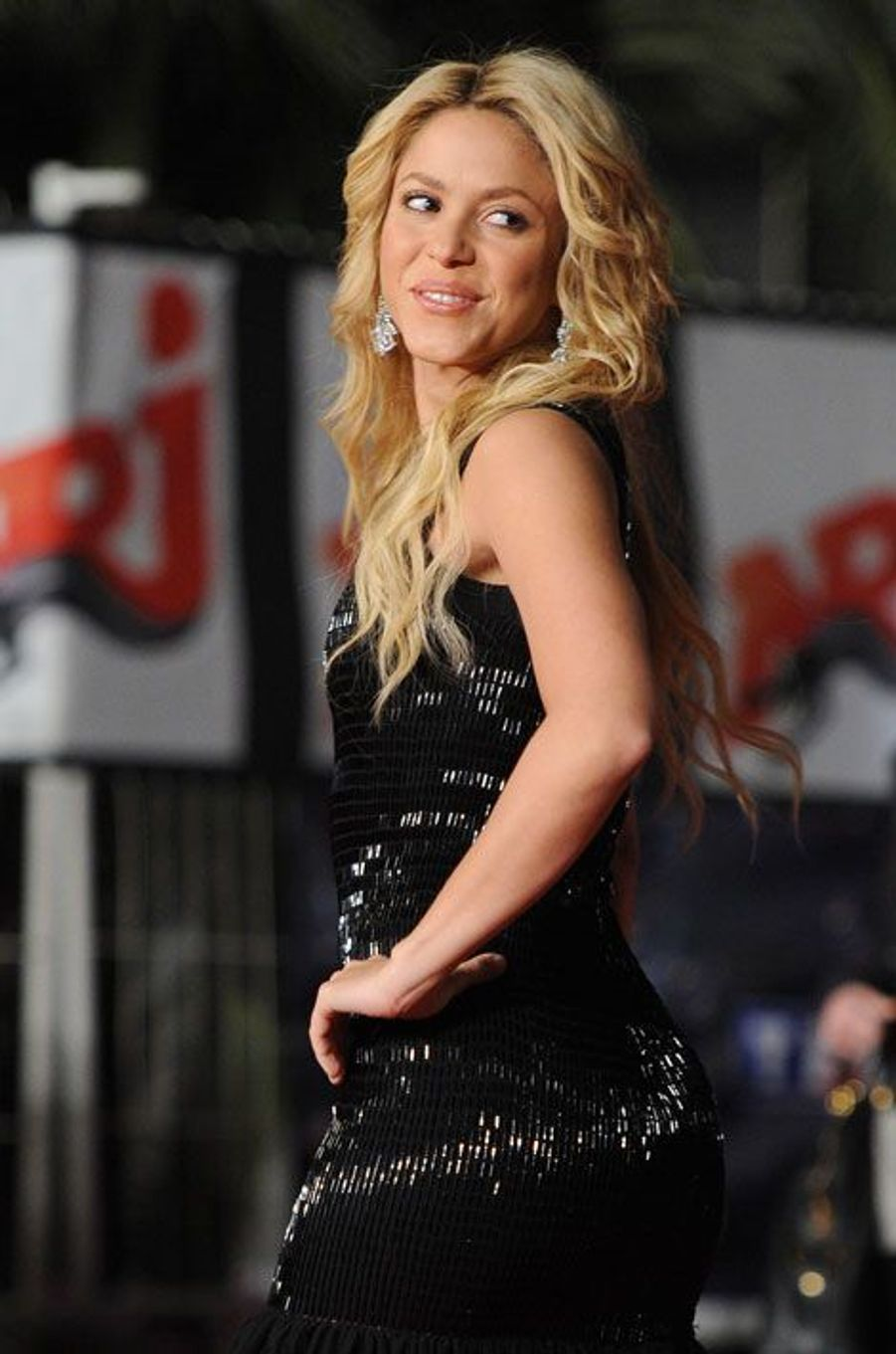 Shakira, compagne de Gerard Piqué (Espagne)